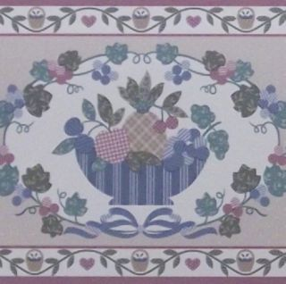 Classic Wallpaper Border Southern Country Kitchen Wall