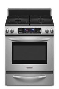 KitchenAid Architect Series II KGRS807SSS 30 Freestanding Gas Range w