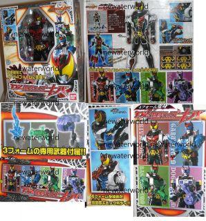 RARE Kiva DX 4 in 1 Garuru Bassher Dogga Masked Kamen Rider Bandai
