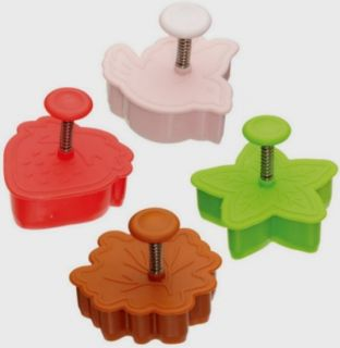Kitchen Craft Set of 4 Shaped Pie Crust Pastry Cutters