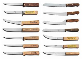 Dexter Russell Green River Fixed Blade Knife Boning Knives Bread