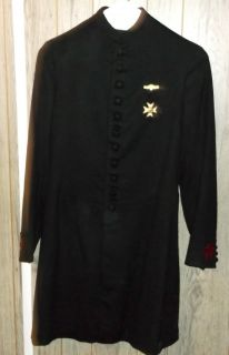Vintage Knights Templar Uniform Jacket