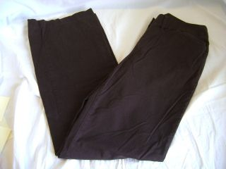 Womens Chicos Brown Pants Size 0 Regular