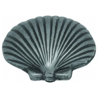 Hickory PA0112 VP Sea Shell Vibra Pewter Cabinet Knob Beach House Pull