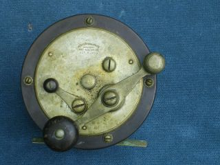 Antique Julius Vom Hofe Fishing Reel