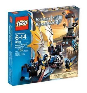 Lego Knights Kingdom Set 8821 Rogue Knight Battleship Factory SEALED