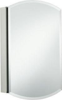 Kohler K 3073 NA 20 Single Door Frameless Mirrored Medicine Cabinet
