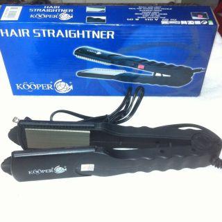 Kooper Hair Straightner Light Ideal for Traveling Removable Side Combs