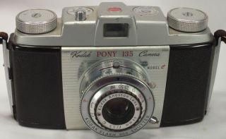 Kodak Pony 135 35mm Film Camera Model C