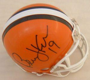 Bernie Kosar Autographed Cleveland Browns Mini Helmet