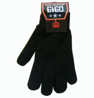 Magic Gloves Stretch Knit Black Colors New