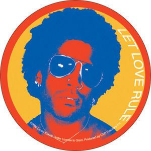 New Lenny Kravitz Let Love Rule Vinyl Sticker Decal