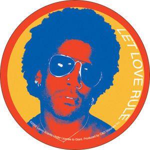 New Lenny Kravitz Let Love Rule Vinyl Sticker Decal