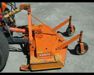 Kubota 48 3 Blade 3 Point Hitch Finish Mower Attachment