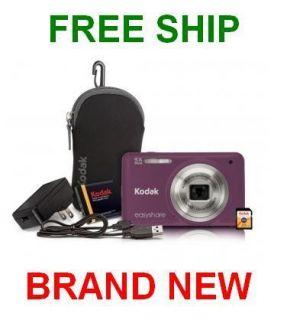 Kodak Easyshare M5350 16MP 5x Optical Zoom Digital Camera Bundle