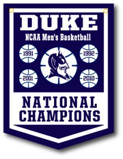 Duke Blue Devils Mike Krzyzewski Basketball National Championship