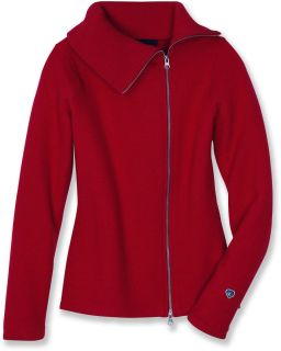 KUHL   Womens PRAGUE Merino Wool Sweater   (M)   Crimson   NWT