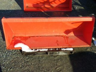 Kubota L Series Loader Bucket