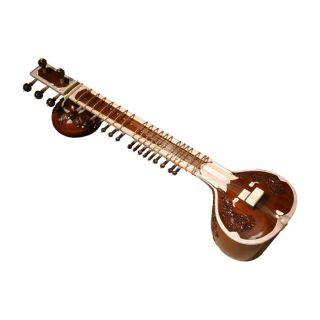 Monoj Kumar Sardar Bros 49 18 String Ultra Pro Sitar Blemished