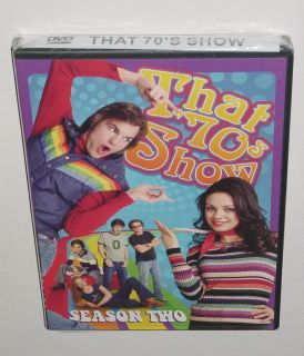 Show Season 2 Two DVD Set Brand New SEALED 70s Kutcher Kunis