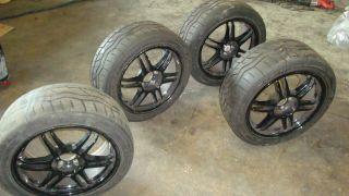 Kosei K1 TS 17x8 ET35 5x112 Rims Wheels Audi S4 A4 A6 Falken Azenis