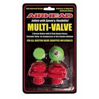 Kwik Tek Airhead Multi Valve With Boston Valves, Schrader Valve AHMV 1
