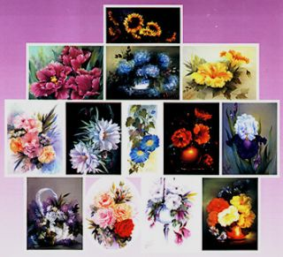 Joy of Painting Flowers Book I by Annette Kowalski New