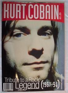 Kurt Cobain Tribute to Rock Legend Magazine Nirvana