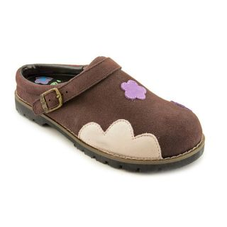 Amour 647 Youth Kids Girls Size 2 Brown Regular Suede Clogs Shoes