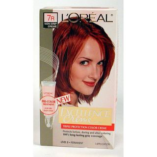 Oreal Excellence 7R Red Penny Hair Color
