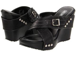 Harley Davidson Latoya Wedge Sandals Womens 5 5 $65