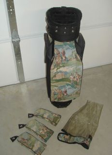 Ladies JONES COLLECTION Tapestry Cart GOLF BAG Jones Sports Company