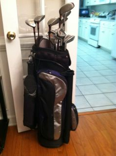 Complete Ladies Golf Set Datrek Golf Bag 17 Clubs EXTRAS w USGA Member