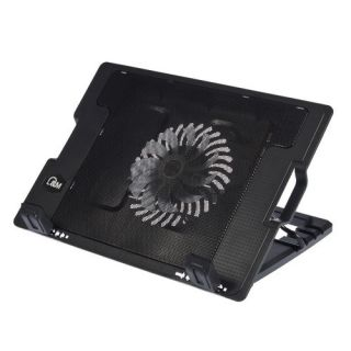 Notebook Laptop Cooling Cooler Pad Fan 2 USB Adjustable Angle Stand