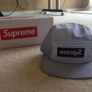 Supreme NYC x Comme Des Garcon 5 Panel Hat Snapback Starter