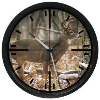La Crosse Technology 403 312A 12 in Wildlife Crosshair Wall Clock