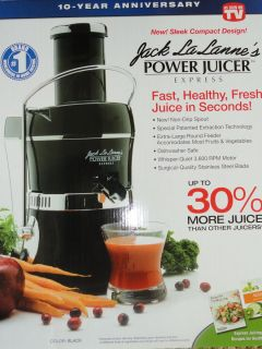 Jack La Lannes Power Juicer Express Black Jack Lalanne