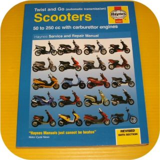 Haynes Automatic Scooter Manual Moped Aprilla Honda Sym