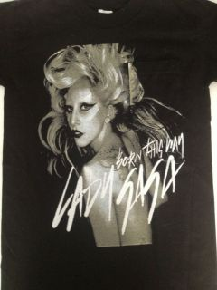 Lady Gaga 2011 Monster Ball Tour Small T Shirt