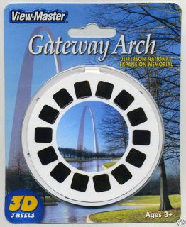 Gateway Arch St Louis Missouri View Master 3 Reel Packet SEALED Mint