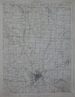 Electric Rrailroad Map Stark County Ohio Congress Lake