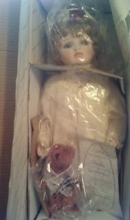 Amelia Porcelain Doll by Virginia Turner Hamilton Collection Bisque