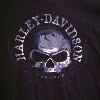 Davidson XX Large Skull T Shirt Lake Charles HD Louisiana