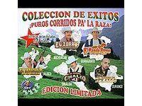 Corridos PA La Raza Coleccion de Exitos Box CD 2008