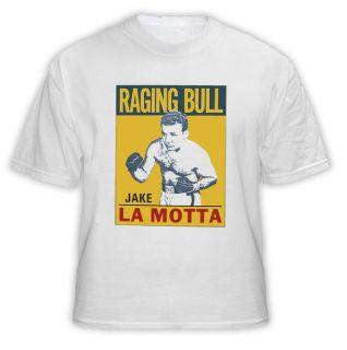 Raging Bull Jake LaMotta Boxing Legend T Shirt White