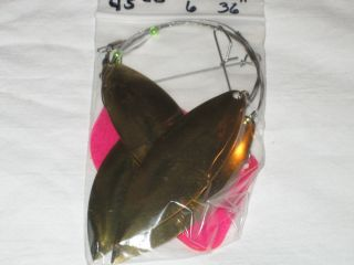 NEW LAKE TROLL LURE FLASHER DODGER COW BELLS TROUT WALLEYE SALMON