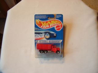 1995 Hot Wheels Peterbilt Workhorse Truck International