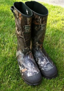 LaCrosse Burley Mens Hunting Boots Waterproof Insulated Knee Boot Camo