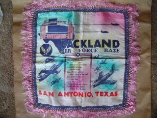 Lackland Air Force Base San Antonio TX Pillow Cover Mom
