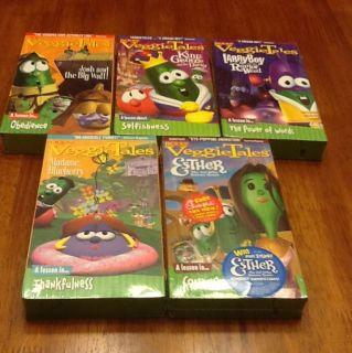 Brand New Veggie Tales VHSS